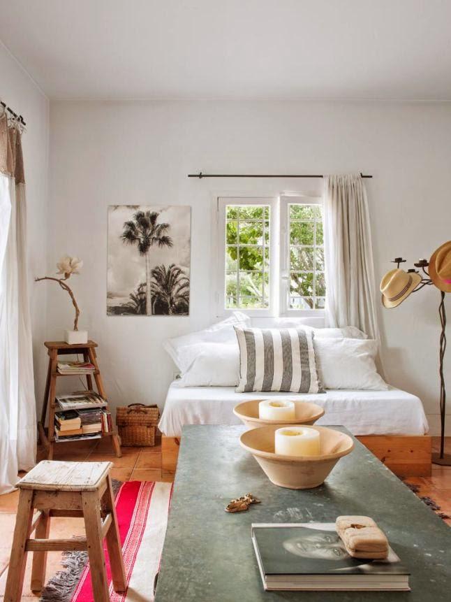 Decoraci n f cil una casa en ibiza con decoraci n r stica - Paginas para decorar casas ...