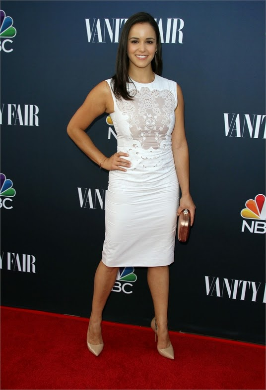 Melissa Fumero - NBC Universal Vanity Fair Party photo 1