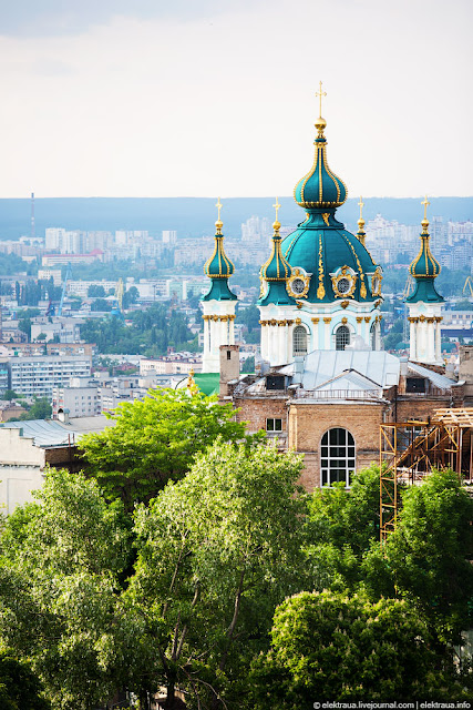 eurovision 2017 View on Andrew's Church - Things to Do Kiev