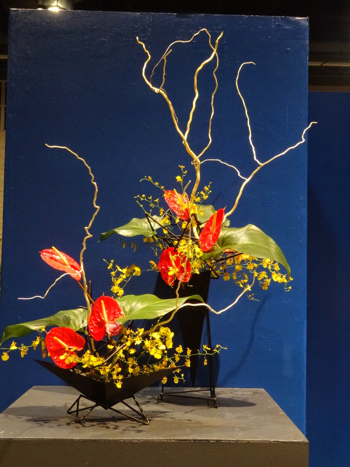 Flowers Ikebana and I Philadelphia Flower Show 2015 1