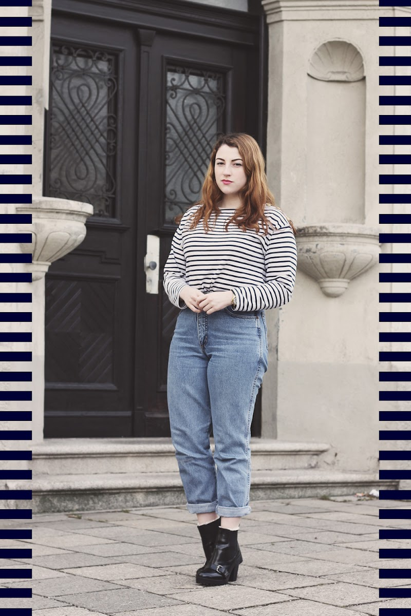 how to wear a breton stripey top