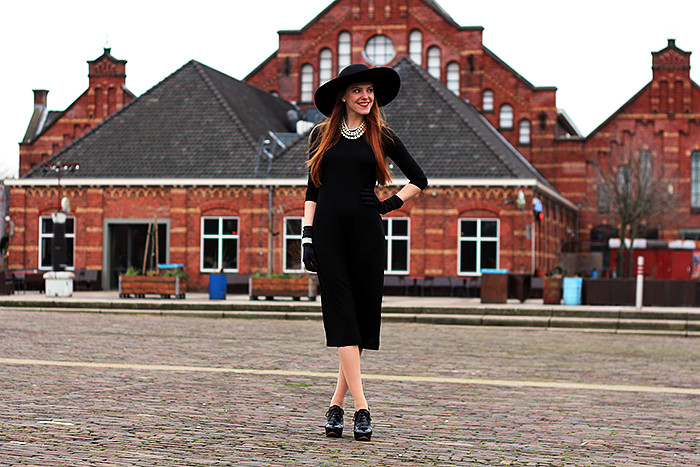 5 Ways To Wear a Basic Black Midi Dress
