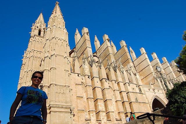 Exterior de la Catedral de Palma