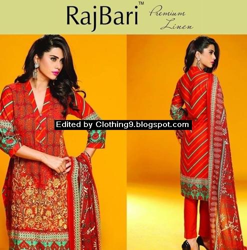 RajBari Winter Embroidered Linen