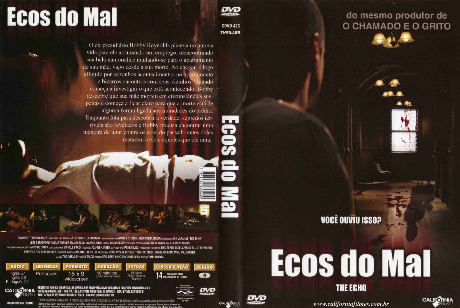 Ecos do Mal DVD Capa