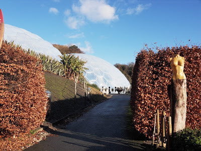 The biomes at Eden Project Cornwall