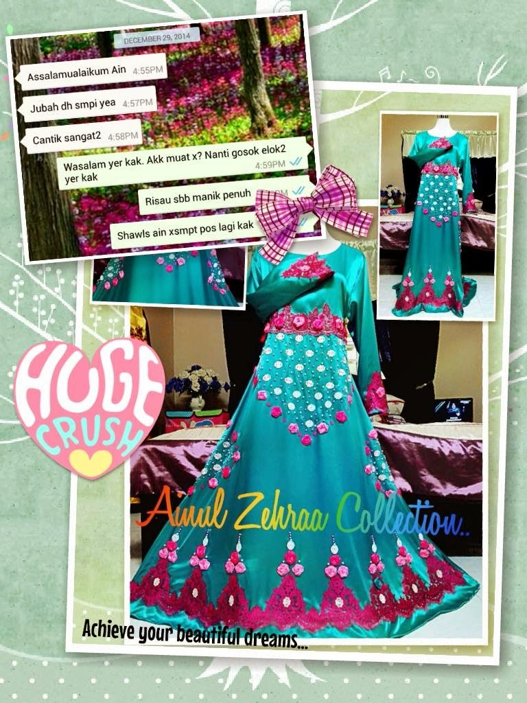 Feedback customer ainul zehra collection