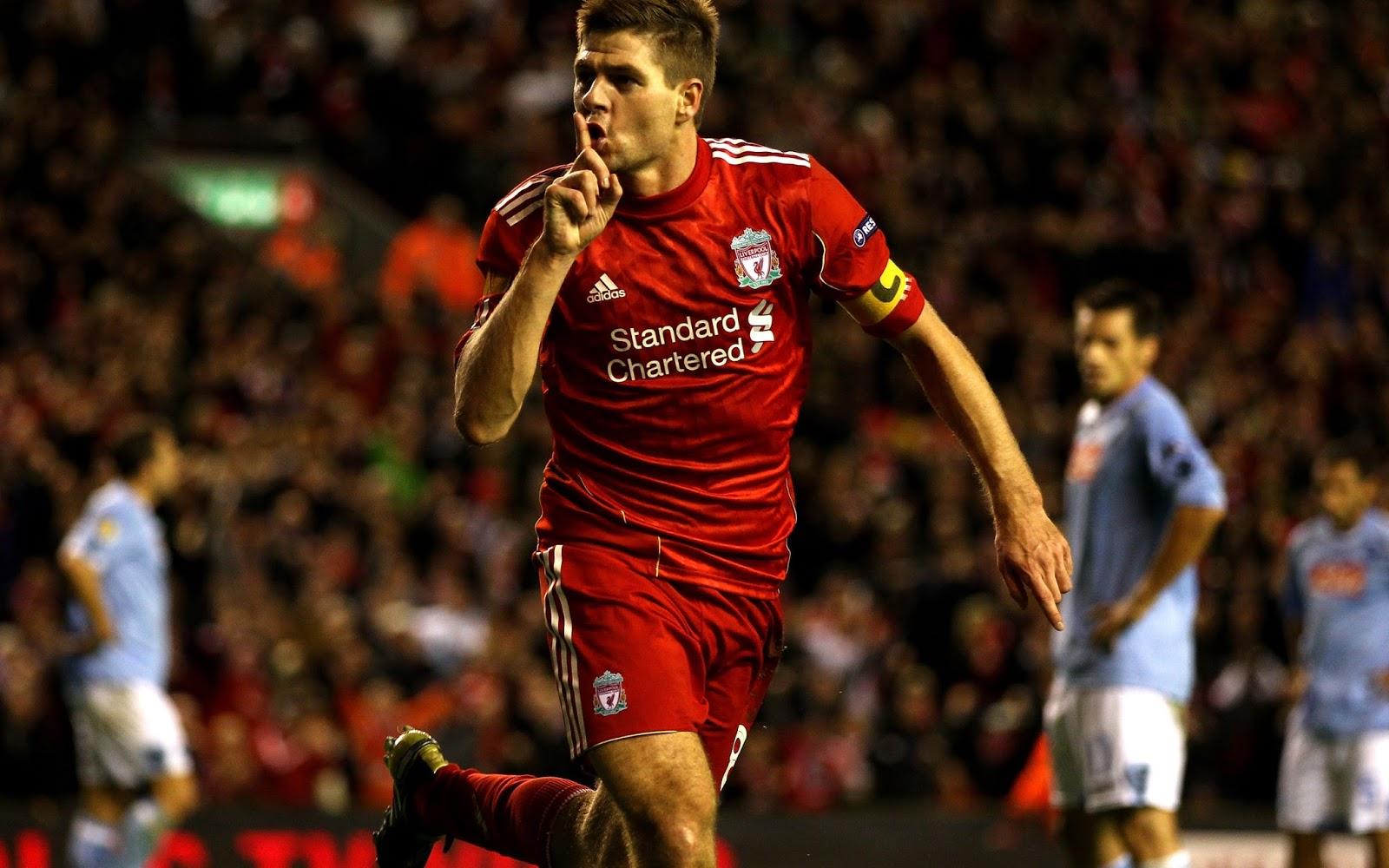 Inside Left A Quiet Reflection on Steven Gerrard
