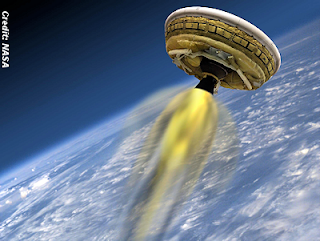 NASA Prepares 'Flying Saucer' for Take Off