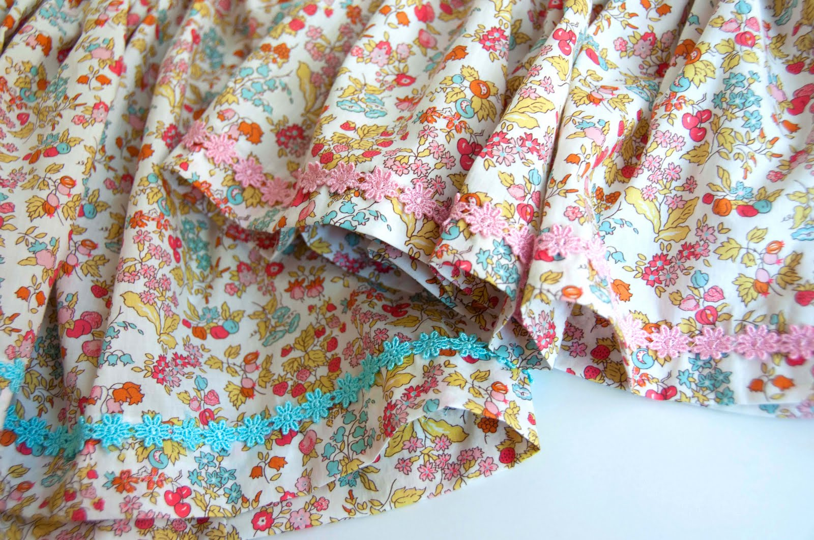 Aesthetic nest sewing liberty of london skirts