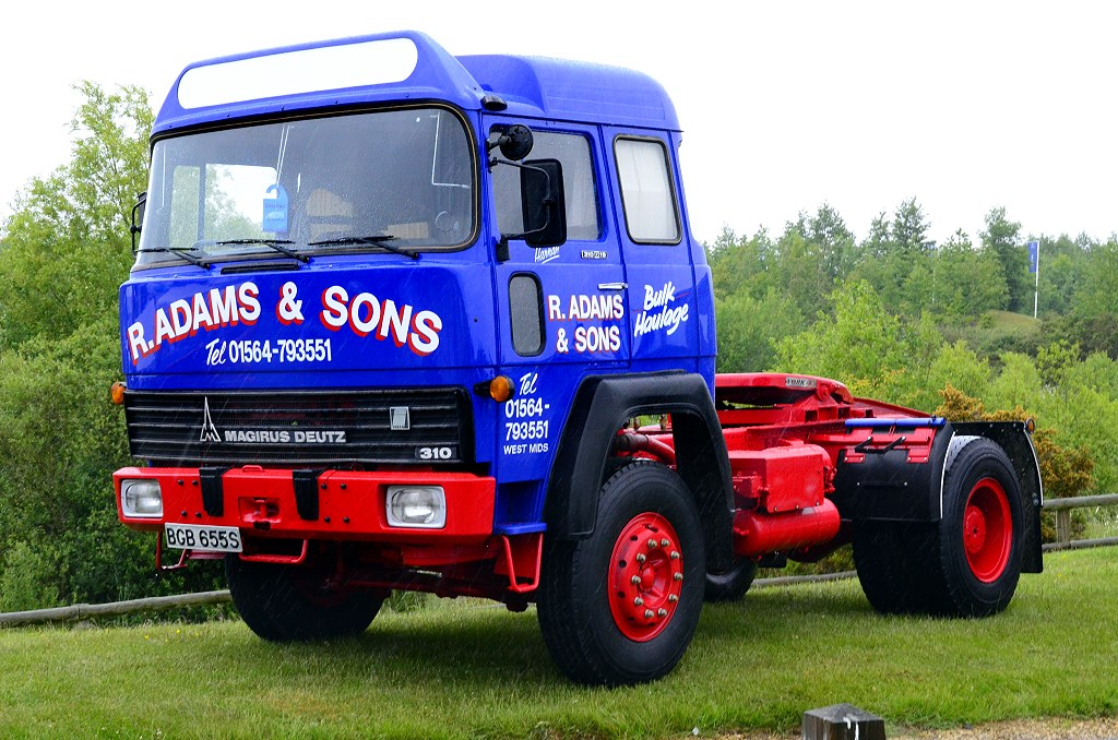 Joe Hupp S Classic And Vintage Trucks 1977 Magirus Deutz