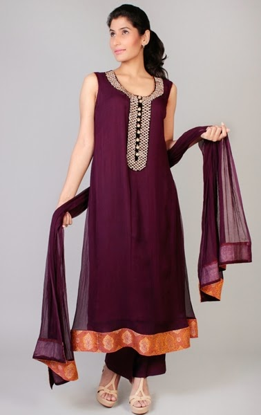 Magenta Colors in Pakistani Formals