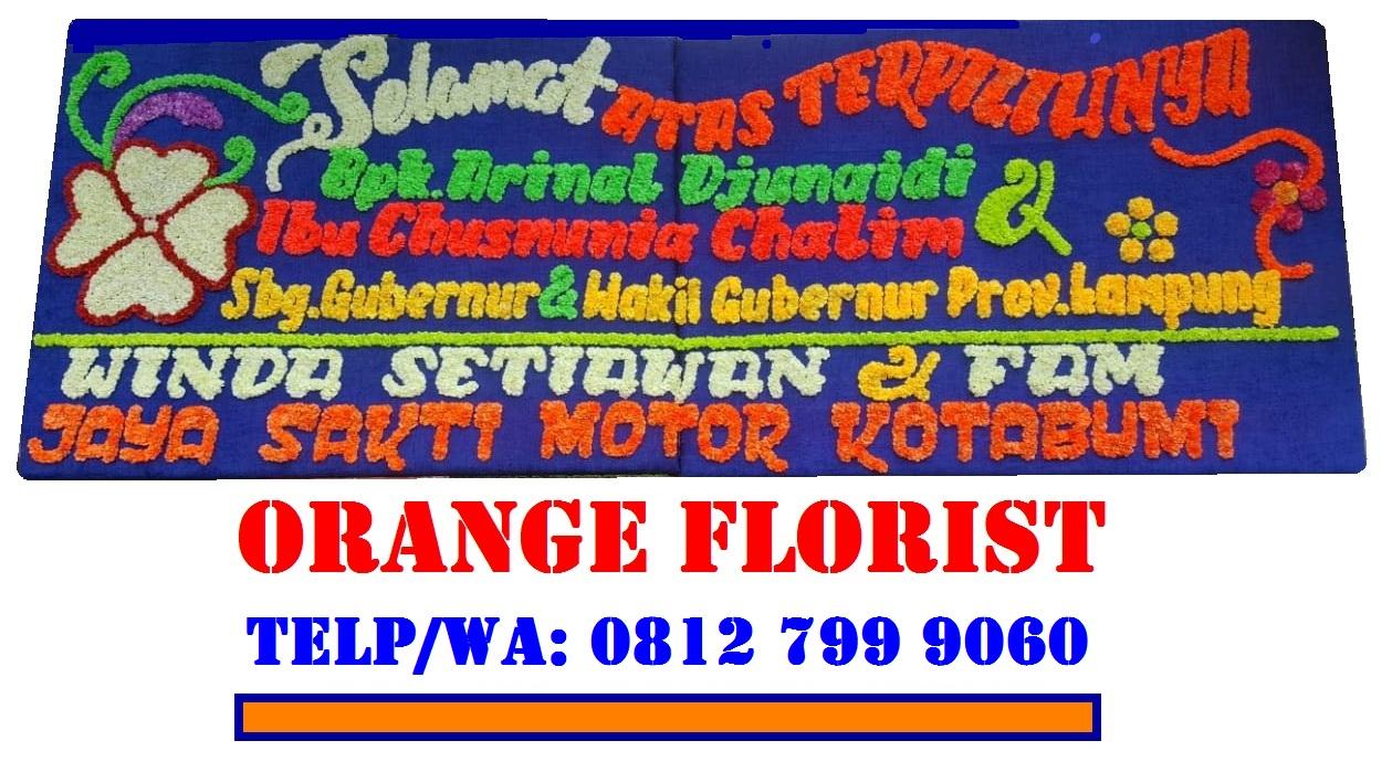Orange Florist Pusat Karangan Bunga Papan Lampung
