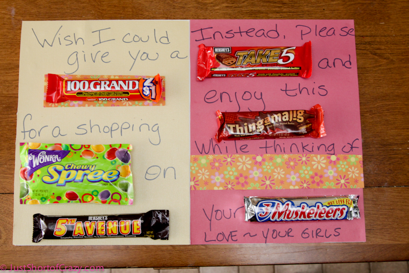 Mother Day Candy Bar Sayings