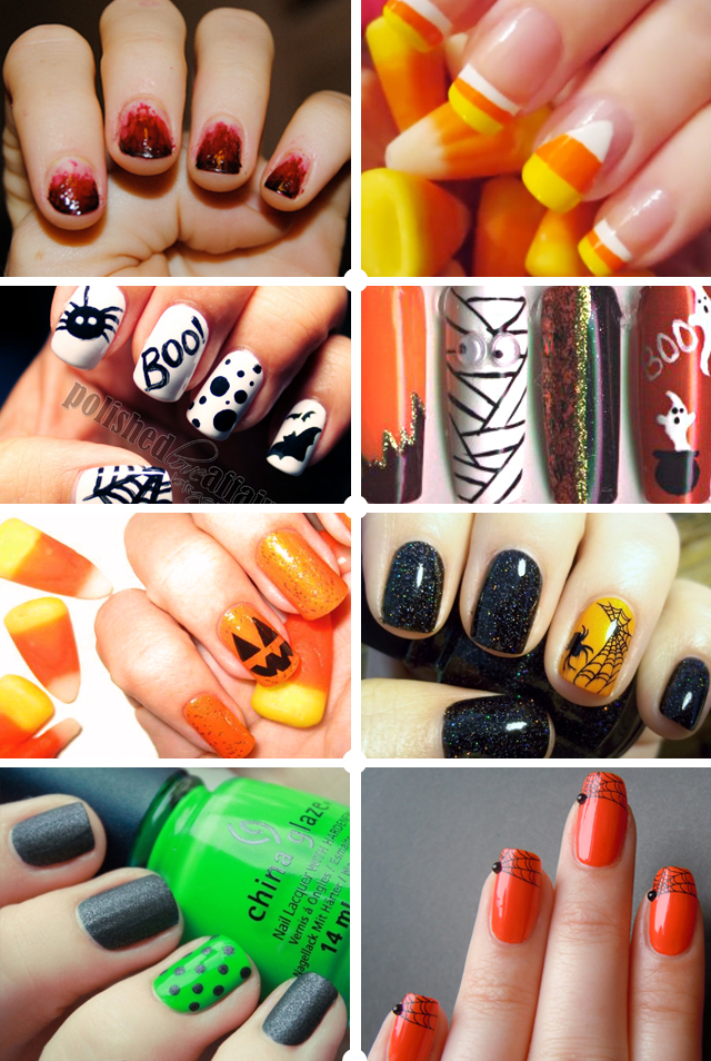 Halloween Nails, Nail Art, & Manicure Inspiration & Ideas | ...love ...