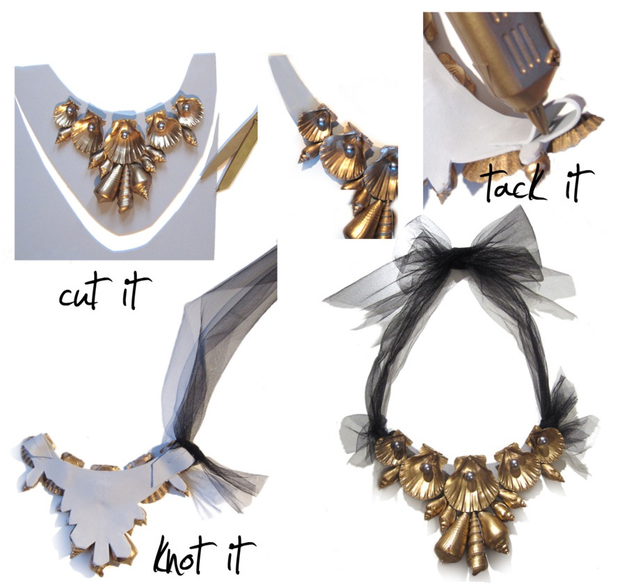 Make Your Own Seashell Jewelry: Up Close And Personal: DIY