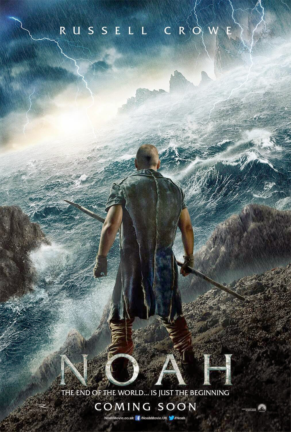 Russell Crowe Noah movie book novelization
