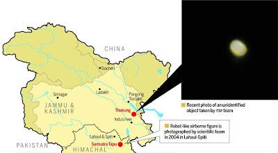 mapa de onvis detectados en la india