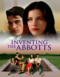 Original poster artwork Inventing the Abbotts 1997 movieloversreviews.blogspot.com