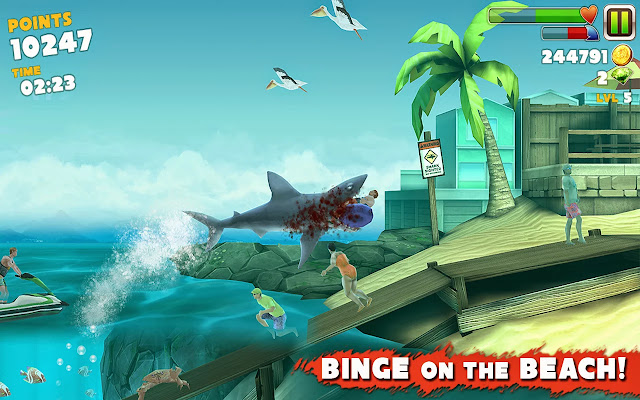 Android Hungry Shark Evolution Apk resimi 2