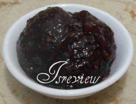 Isreview: St. Dalfour's Raspberry & Pomegranate Jam