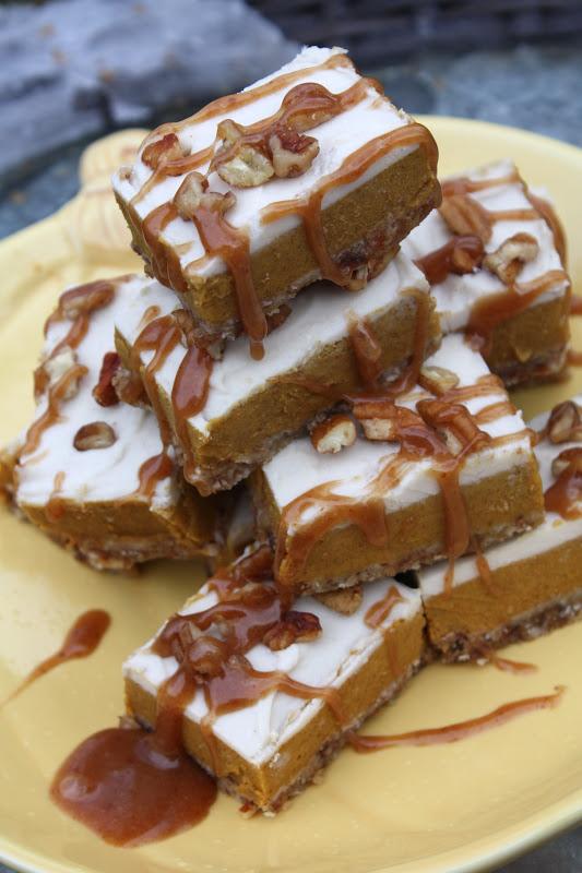 Creamy Pumpkin Pie Bars Recipe — Dishmaps