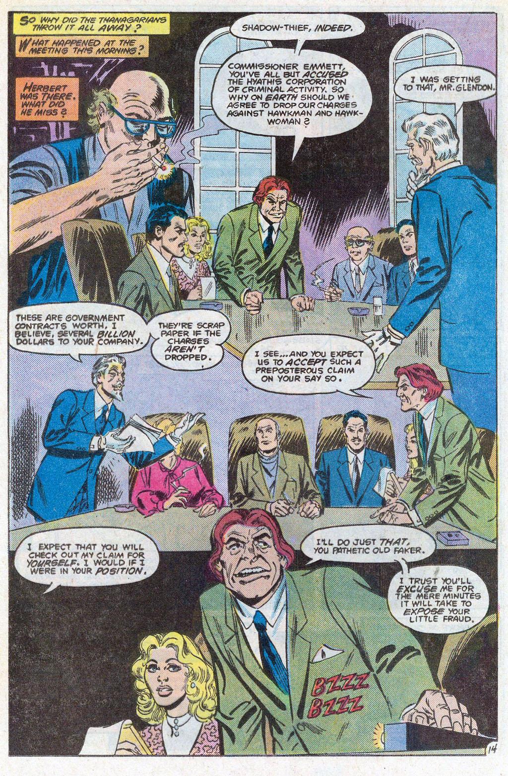 Hawkman (1986) Issue #3 #3 - English 17