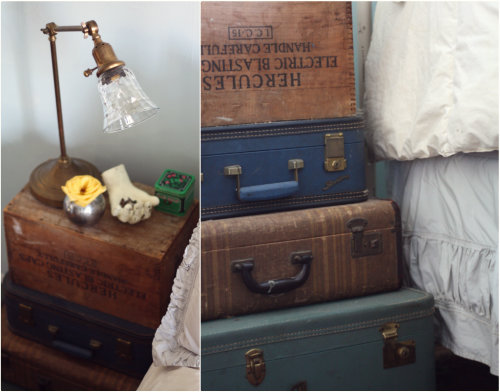 So Thatu0027s The Story Of Our Suitcase Bedside Table! Will You Make One After  Seeing How Easy It Is Now? This Idea Would Be Great For A Guest Room Or A  Fun ...
