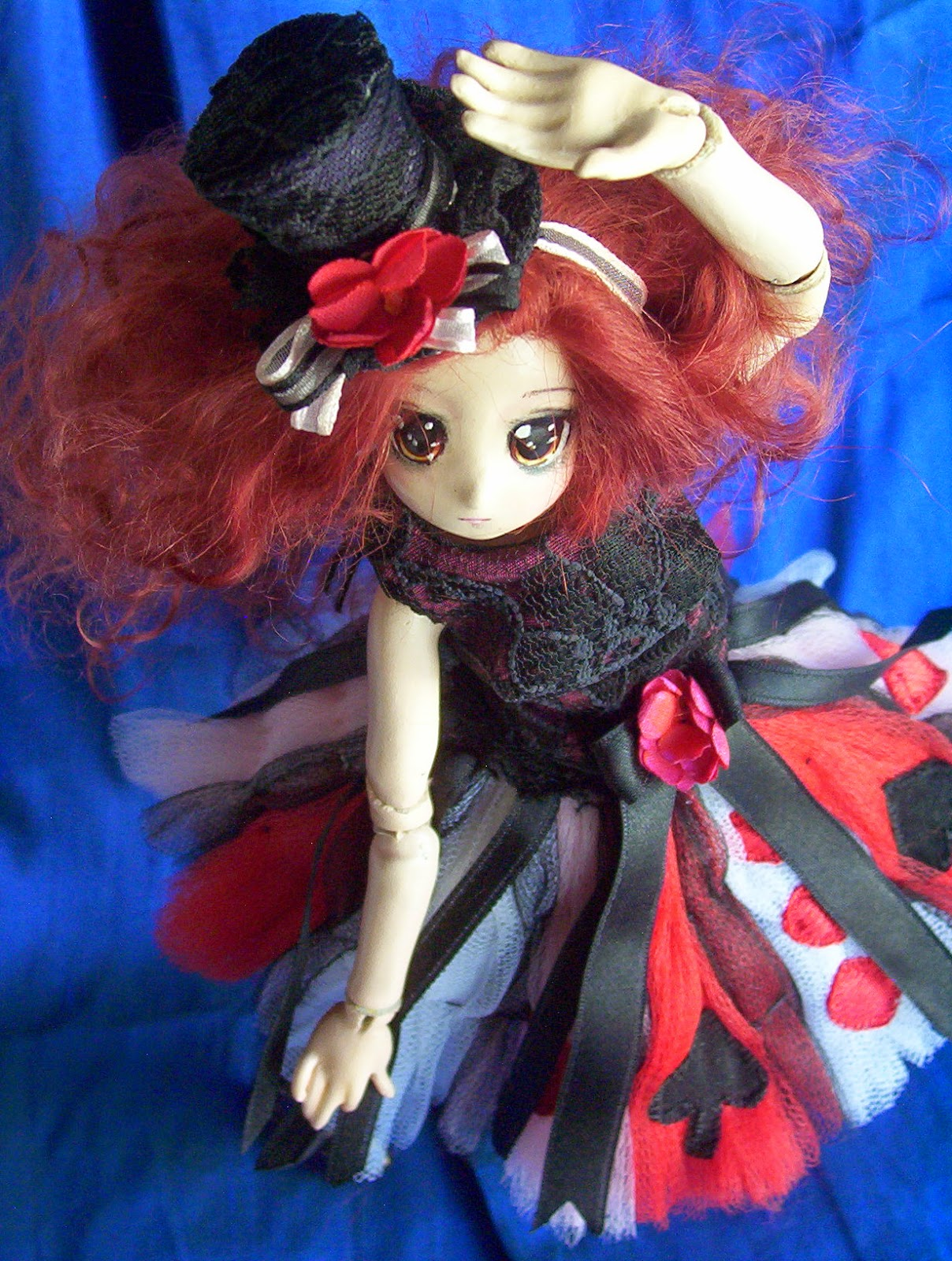 maid of hearts custom doll made by request