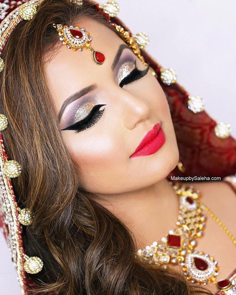 71 Best Saleha Beauty images | Wedding day makeup, Bridal ...