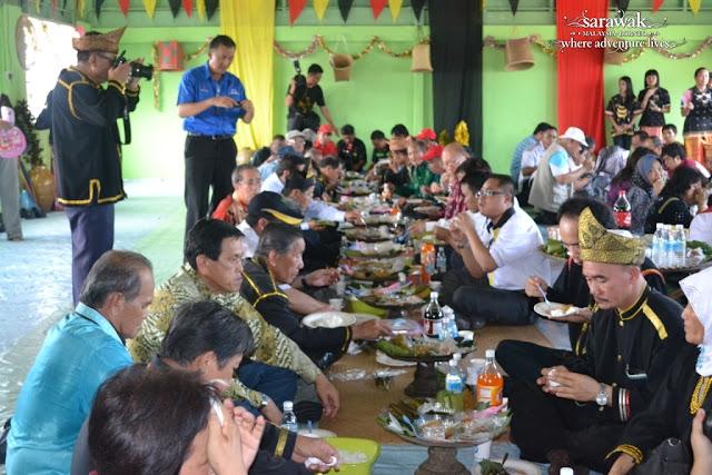 Bisaya Buffalo Race Festival in Limbang Sarawak Community Feast