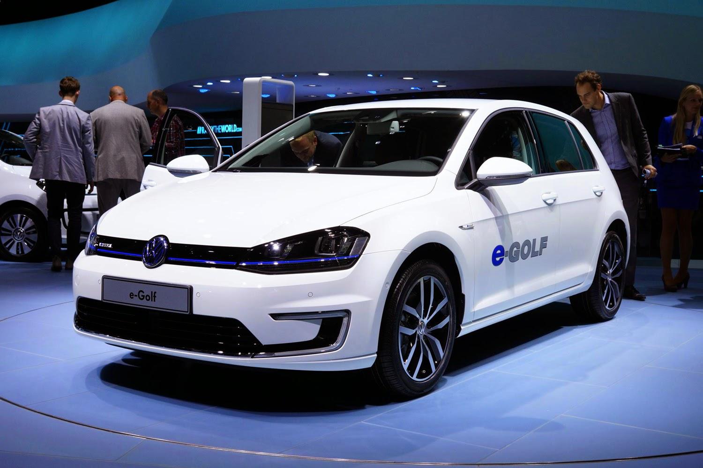 El e-Golf de Volkswagen