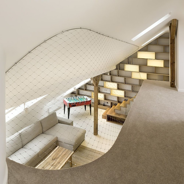 Rounded Loft in Prague by A1ARCHITECTS 2
