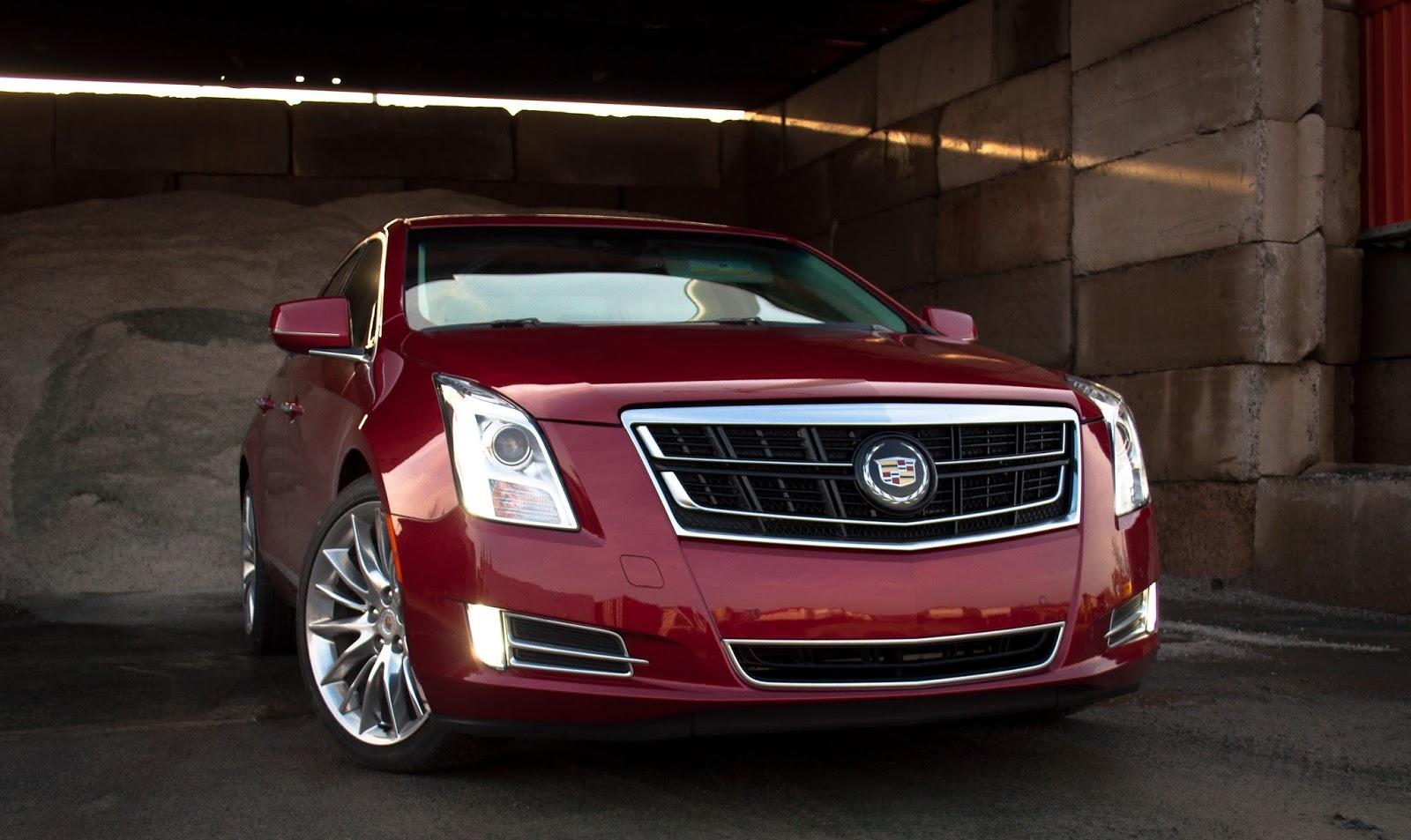 2015 Cadillac XTS Vsport front