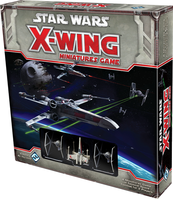 Wing Miniatures Game  Table Top Game Review X Wing Game