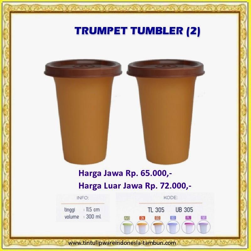 trumpet tumbler tulipware 2013
