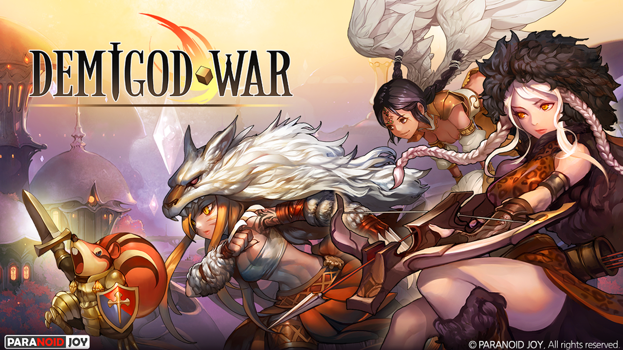 Demigod War Gameplay IOS / Android