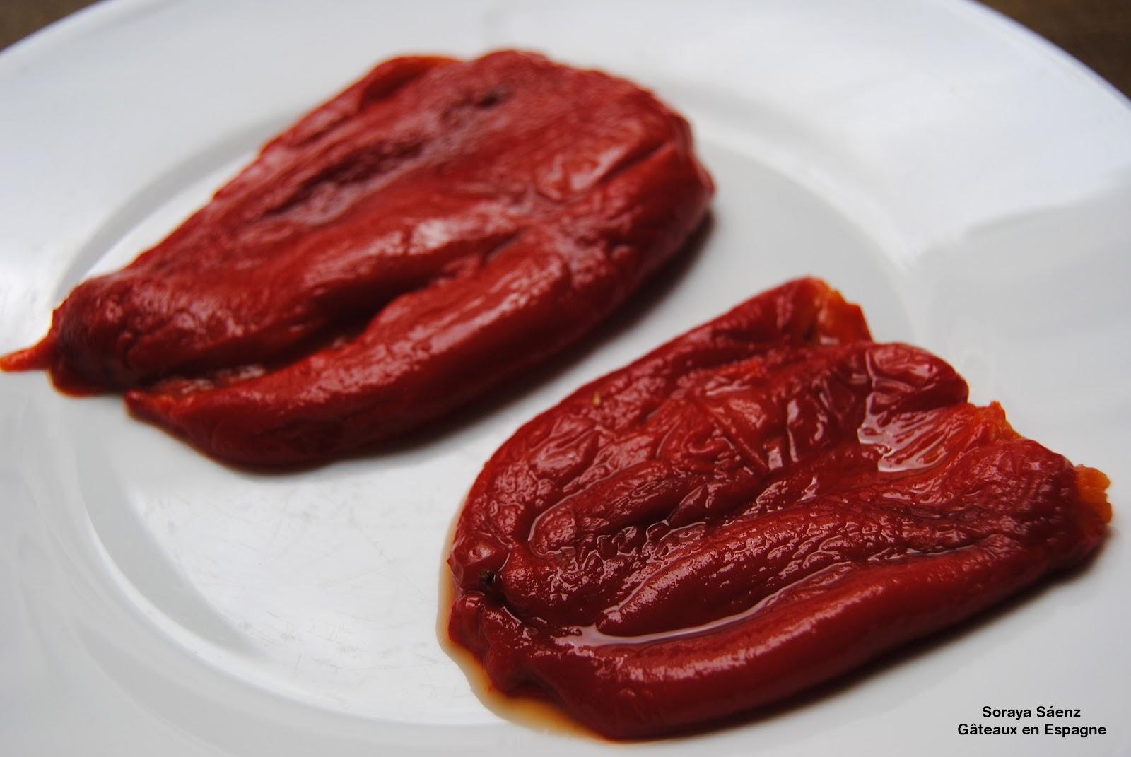 G teaux en espagne poivrons rouges grill s au four style - Cuisiner les poivrons ...