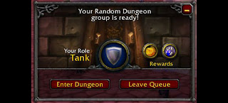 LFG Looking for Group WoW World of Warcraft TANK