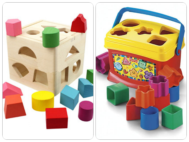 مكعبات الأشكال الهندسية shapes blocks