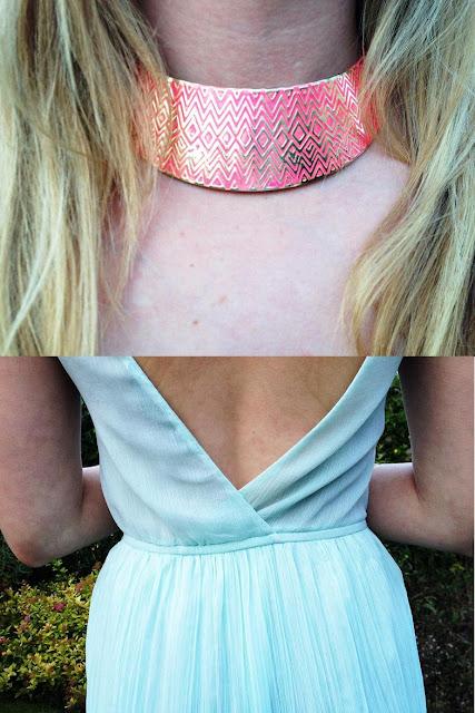 Zara dress Primark Collar