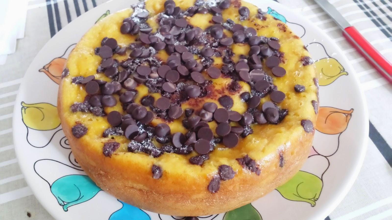 Bizcocho De Naranja, Zanahoria Y Pepitas De Chocolate