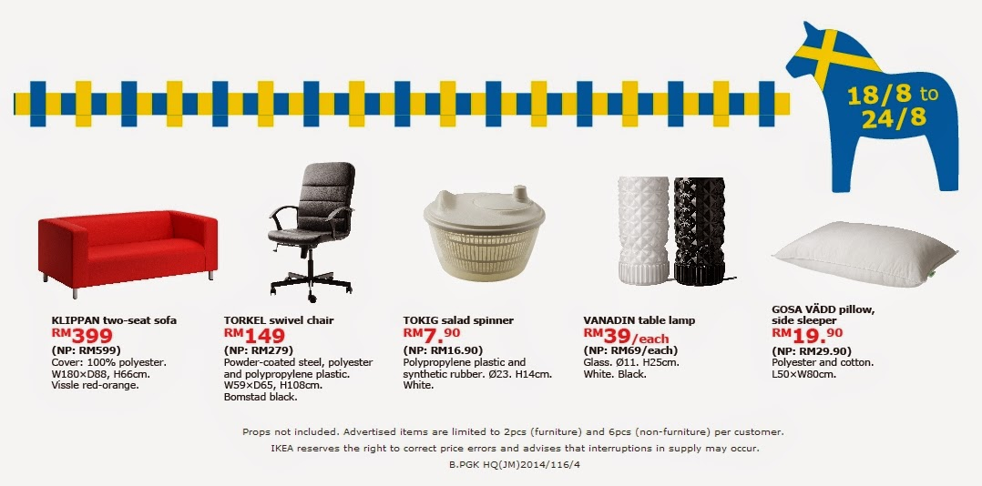 IKEA sales promotion