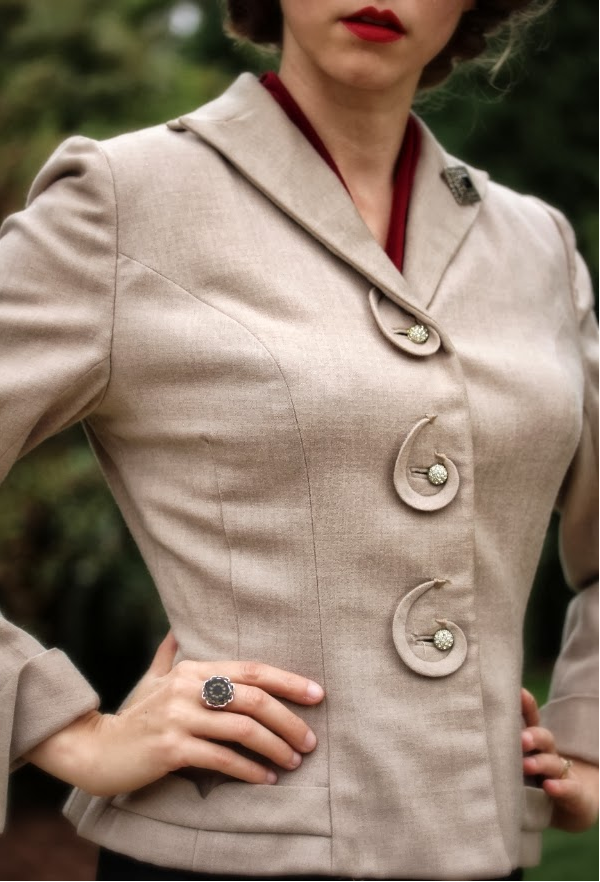 Outfit #13 of My Vintage Autumn Recap #vintage #fashion #1940s #style #1950s #jacket