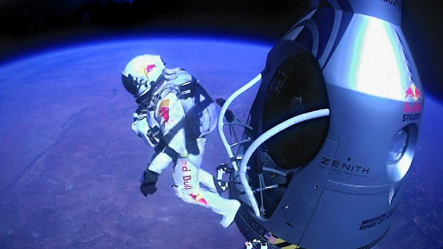 Red Bull Stratos - 23 miles above the Earth's surface