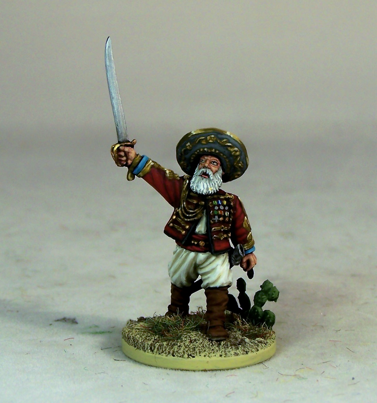 Vitrine de errant49 Colonel+Dupin+28mm+wargaem+miniature+figure