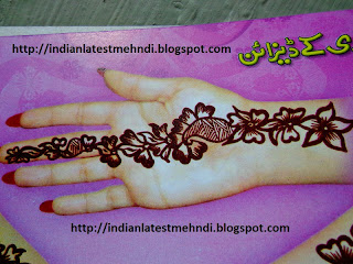 latest easy mehndi designs 2013 6