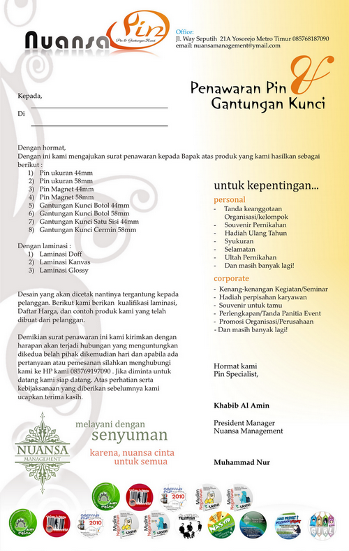 Contoh Contoh Proposal | Share The Knownledge