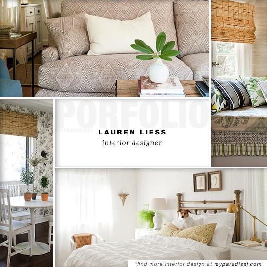 Lauren Liess Interior Designer