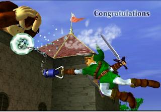link melee classic congratulations